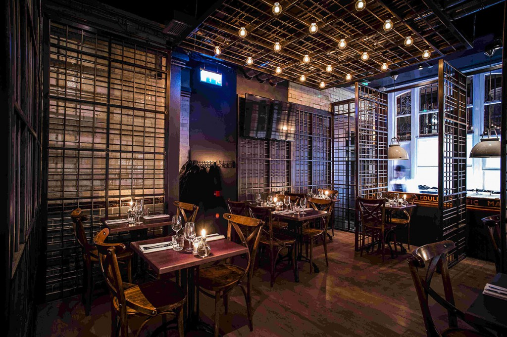 wright-brothers-restaurant-london-metal-cage